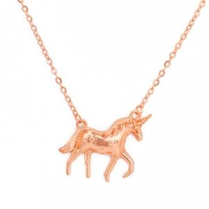 ✨NEW Gold Unicorn Necklace✨